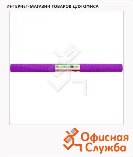 Бумага крепированная Greenwich Line ярко-сиреневая, 50х250см, 32 г/м2