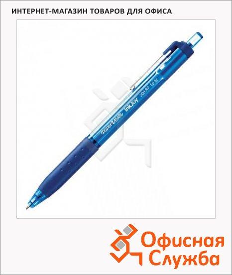фото: Ручка шариковая автоматическая Paper Mate InkJoy 300 RT синяя 0.4мм