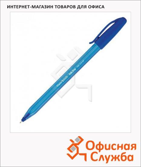 фото: Ручка шариковая Paper Mate InkJoy 100 Cap синяя 1мм