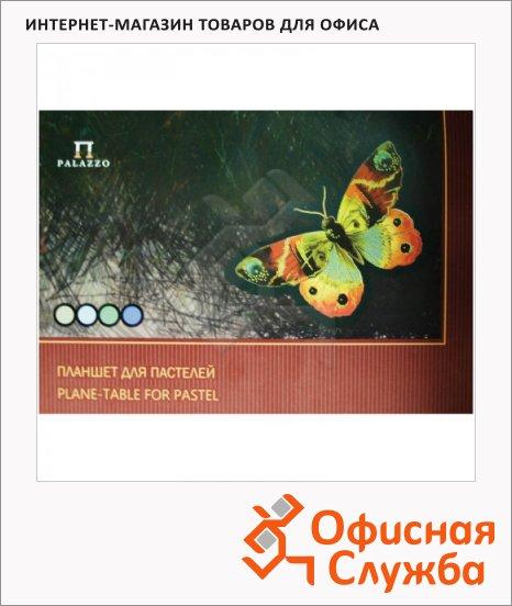 фото: Папка для пастели Palazzo Бабочка А3 20 листов, тонированная, 4 цвета, 200г/м2
