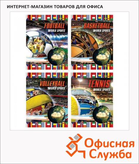 ������� ����� ������ World Sports, A5, 48 ������, � ������, �� �������, ���������� ������