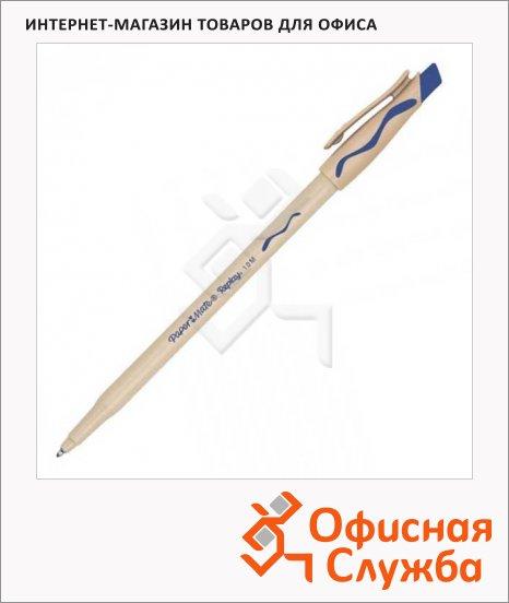 Ручка шариковая стираемая Paper Mate Replay синяя, с ластиком, 1мм, S0190824