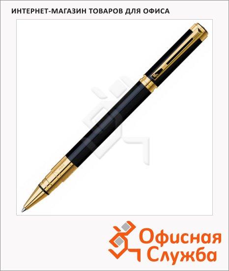 фото: Ручка-роллер Waterman Perspective 0.8мм черный/позолота корпус, S0830860