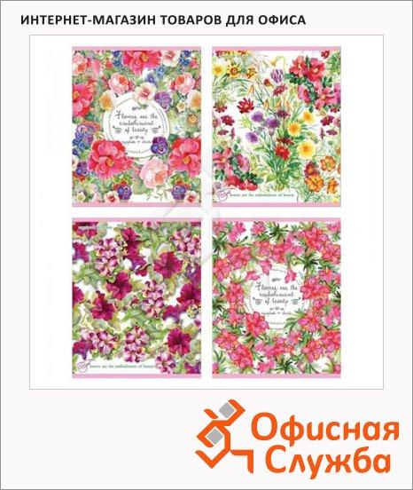 фото: Тетрадь общая Beauty Flowers A5, 40 листов, в клетку