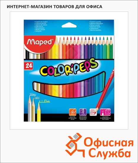 ����� ������� ���������� Maped Color'Peps 24 �����, 183224