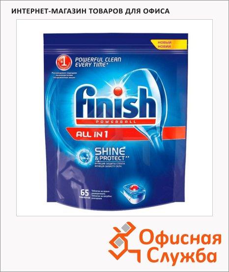 фото: Таблетки для ПММ Finish All in One 65шт