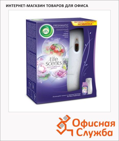 Диспенсер автоматический для освежителя воздуха Air Wick Freshmatic сказочный сад, 250мл