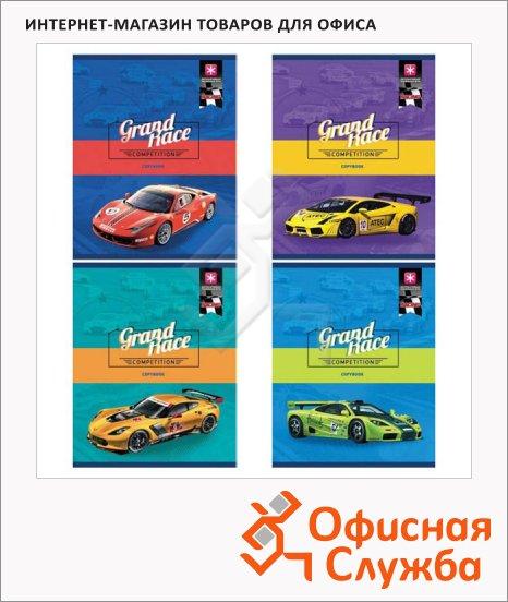 фото: Тетрадь общая Racing А5, 48 листов, в клетку, на скрепке, мелованный картон