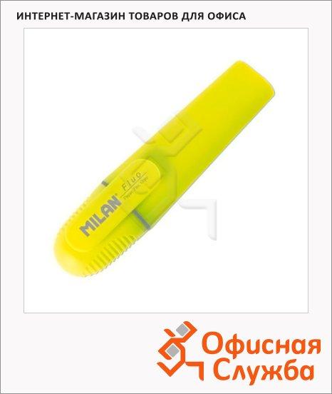 фото: Текстовыделитель Milan Fluo желтый 1-5мм, скошенный наконечник
