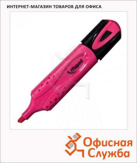 Текстовыделитель Maped Fluo Pep's Classic розовый, 1-5мм, скошенный наконечник