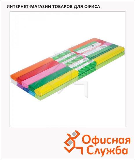 Бумага крепированная Greenwich Line ассорти, набор 10 рулонов, 50х250см, 32 г/м2