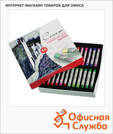 Пастель художественная Невская Палитра Сонет 48 цветов, сухая