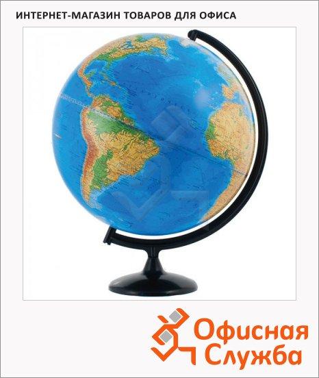 фото: Глобус физический Глобусный Мир 42см на круглой подставке, 10322