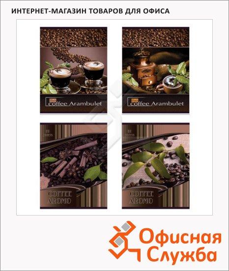 фото: Тетрадь общая Кофейный аромат A5, клетка, 80 листов