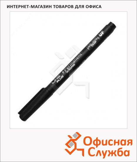 Маркер для CD перманентный Line Plus 2500UF чёрный, 0.6мм, игольчатый наконечник