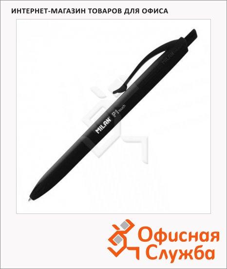 фото: Ручка шариковая автоматическая Milan P1touch чёрная 0.7мм