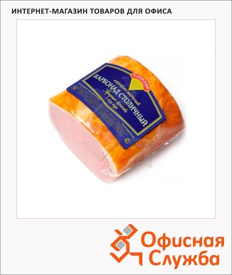 фото: Карбонад Мк Клинский Столичный варено-копченый кг