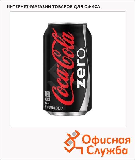 Напиток газированный Coca-Cola Zero 0.33л, ж/б