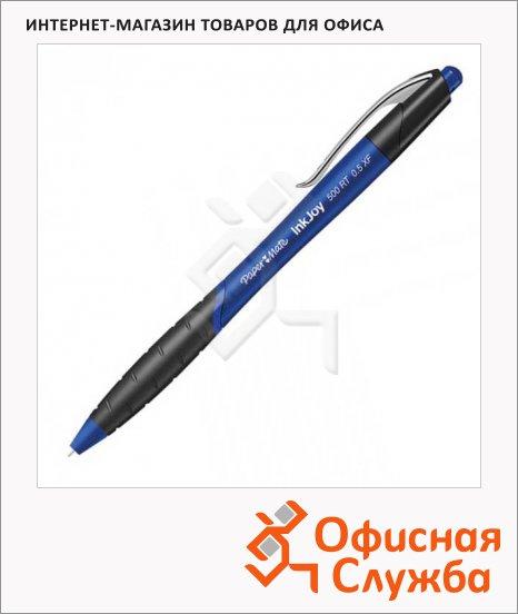 Ручка шариковая автоматическая Paper Mate InkJoy 500 RT синяя, 0.2мм