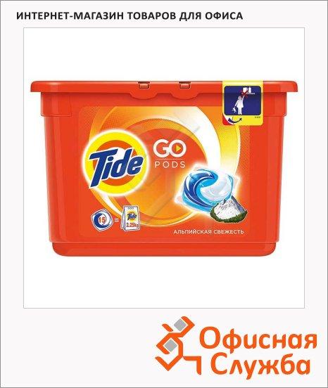 фото: Капсулы для стирки Tide Pods 15шт автомат, альпийская свежесть