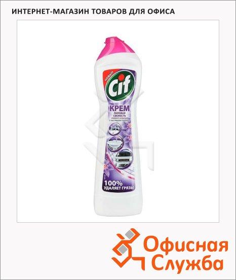 Универсальное чистящее средство Cif Aroma 500мл, крем, лиловая свежесть