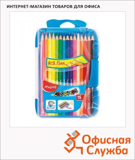 Набор цветных карандашей Maped Color Peps 18 цветов, 832035