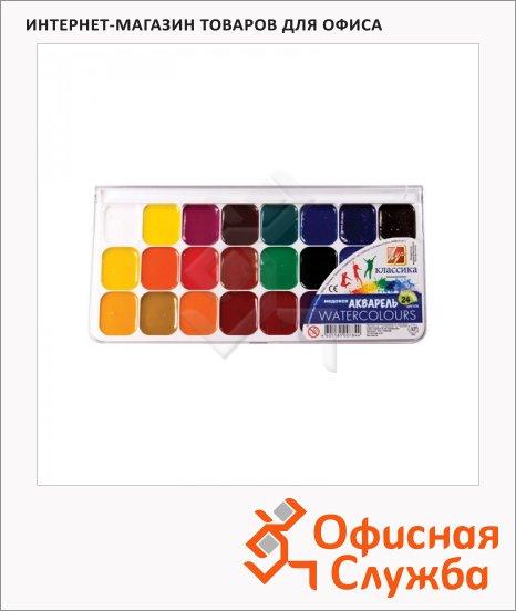 фото: Акварель Луч Классика 24 цвета без кисти, медовая