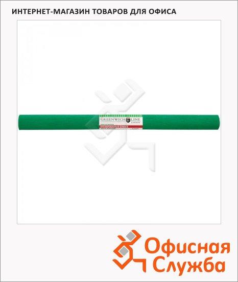 фото: Бумага крепированная Greenwich Line темно-зеленая 50х250см, 32 г/м2