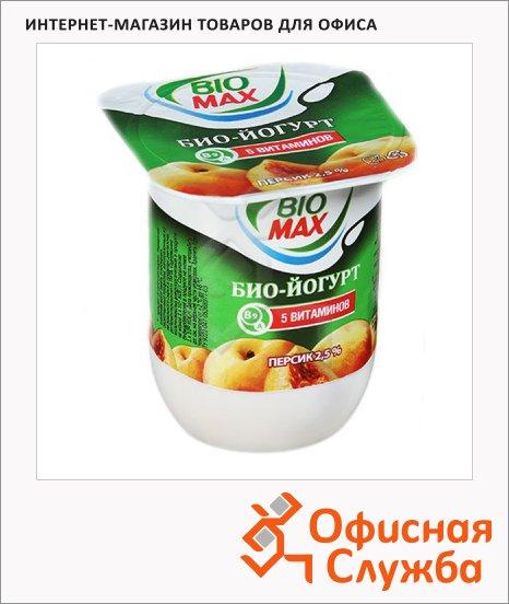 фото: Йогурт Bio Max персик 125г, 2.5%