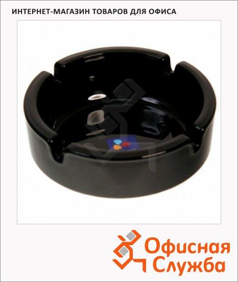 Пепельница Luminarc Black черная, d=10.7см