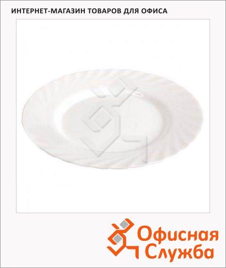 фото: Тарелка десертная Luminarc Trianon белая 24.5см