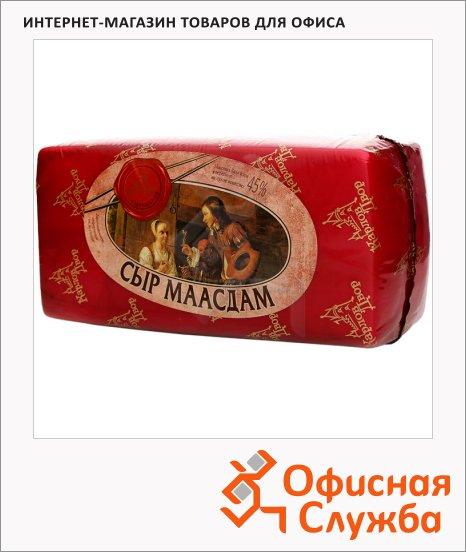 Сыр полутвердый Карлов Двор 45% Массдам, кг