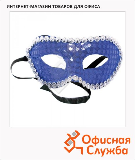 фото: Маска Карнавальная Вельт Каприз, синяя