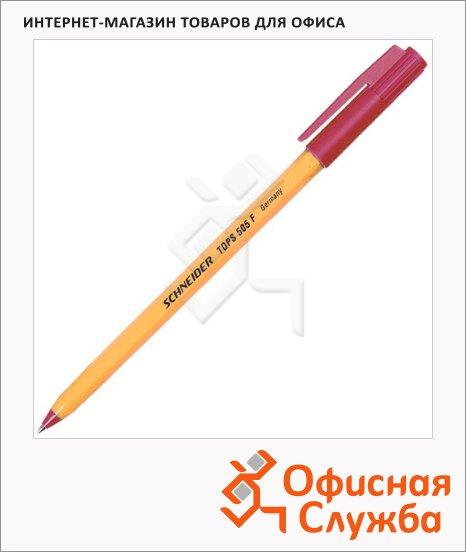 Ручка шариковая Schneider Tops 505F красная, 0.3мм