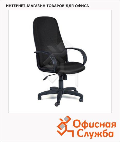 Кресло руководителя Chairman 279 иск. кожа, черная, крестовина пластик