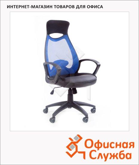 фото: Кресло руководителя 840 голубое
