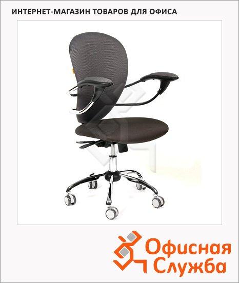 Кресло офисное Chairman 686 ткань, крестовина хром, черная, JP