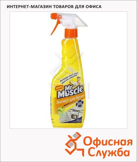 фото: Чистящее средство Мистер Мускул 450мл лимон, спрей