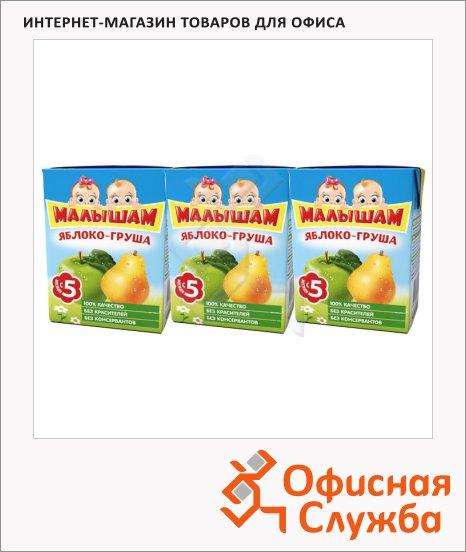 фото: Сок Фрутоняня Малышам яблоко-груша 200мл