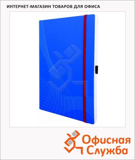 Блокнот Avery Zweckform Notizio 7045, А4, 80 листов, в клетку, пластик, синий, 297x212мм