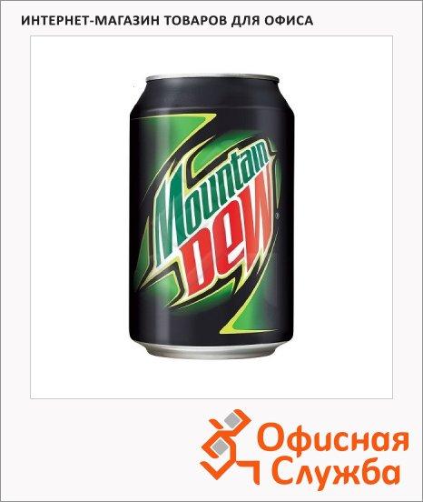 Напиток газированный Mauntain Dew 0.33л х 12шт, ПЭТ, ж/б