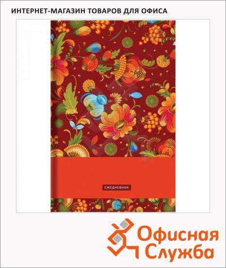 фото: Ежедневник недатированный Office Space Цветочный узор А5, 136 листов