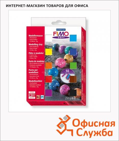 фото: Набор полимерной глины Fimo Soft 10 цветов по 25г