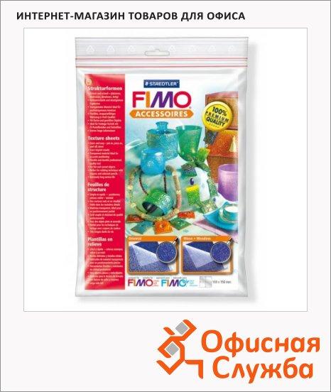фото: Текстурные листы для полимерной глины Fimo Восточные мотивы/Луг 168х150мм, 2шт