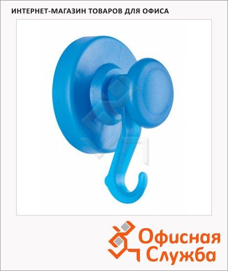 фото: Крючок магнитный Magnetoplan d=68 мм голубой до 20кг