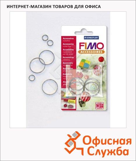 Основа для украшений Fimo круглая, 25мм, 4шт