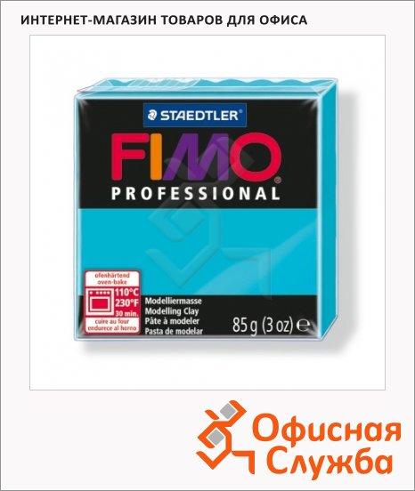 Полимерная глина Fimo Professional бирюзовая, 85г