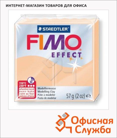 фото: Полимерная глина Fimo Effect персиковая 57г