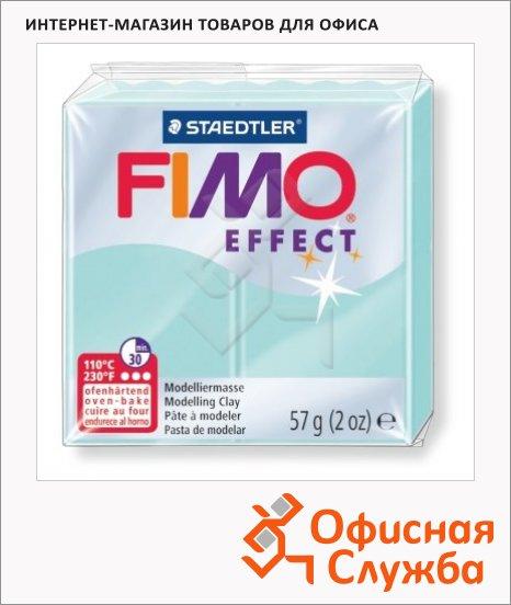 фото: Полимерная глина Fimo Effect мятная 57г