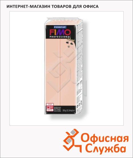 фото: Полимерная глина Fimo Professional Doll Art полупрозрачная розовая 350г